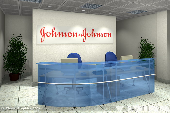 Blue: Johnson and Johnson